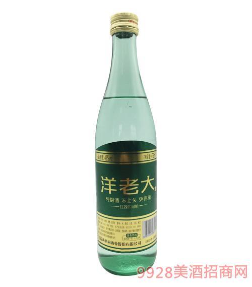 洋老大酒(绿)42度475ml