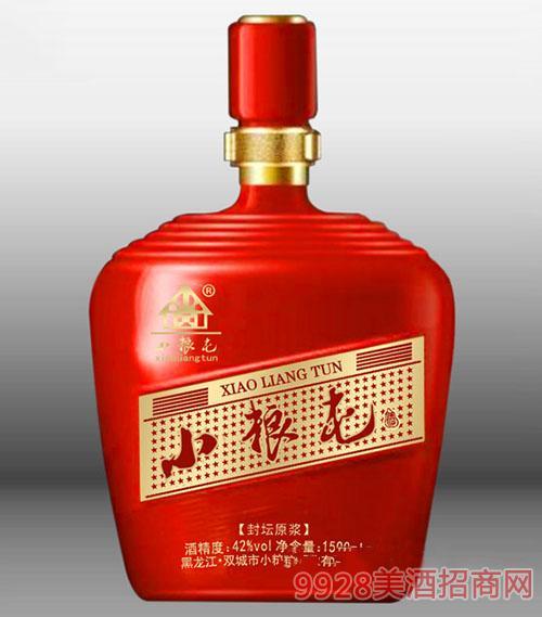 小粮屯酒封坛原浆1.5L(红)
