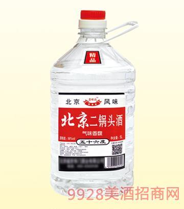 北京二锅头桶装酒56度5L