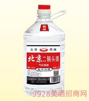 北京二锅头桶装酒56度4.5L
