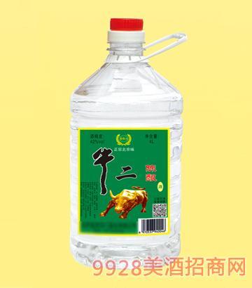 牛二陈酿酒42度4L
