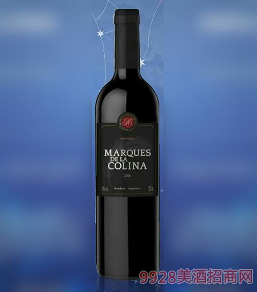 阿根廷原瓶进口科利纳红葡萄酒