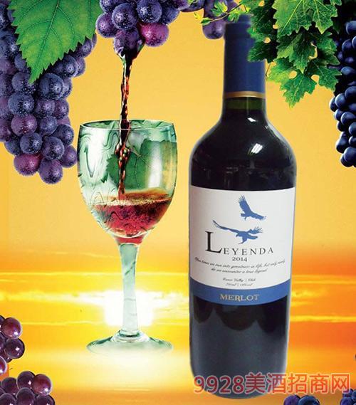 智利库里克山谷奇迹梅乐干红葡萄酒