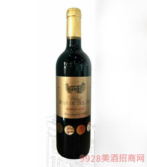 法国波尔多金博莱城堡红葡萄酒