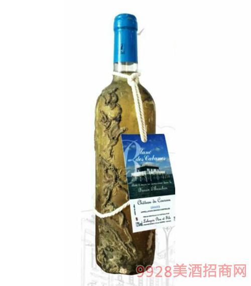 法国格拉夫海藏干白葡萄酒