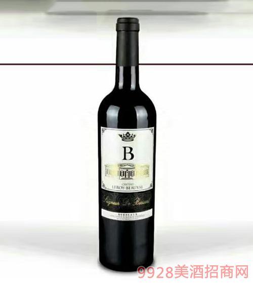 法国波尔多乐华博瓦乐堡干红葡萄酒