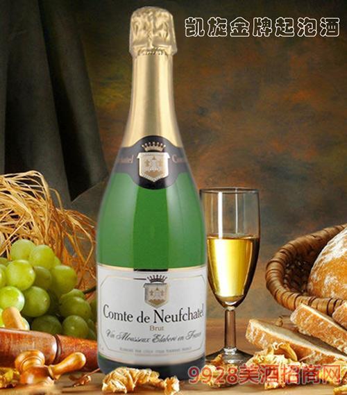 法国凯旋金 牌起泡酒