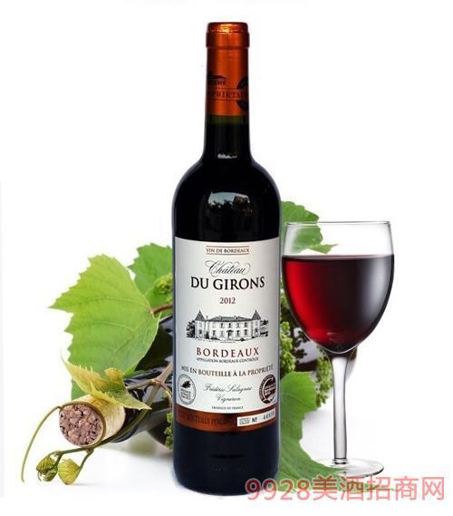 法国波尔多麒龙古堡葡萄酒