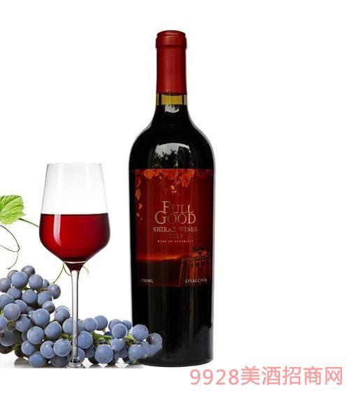 澳洲富谷金装希拉干红葡萄酒