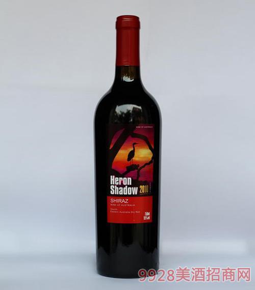 澳洲2010鹭影希拉干红葡萄酒