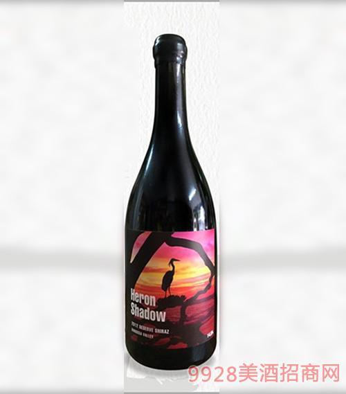 澳洲鹭影系列鼎藏西拉干红葡萄酒
