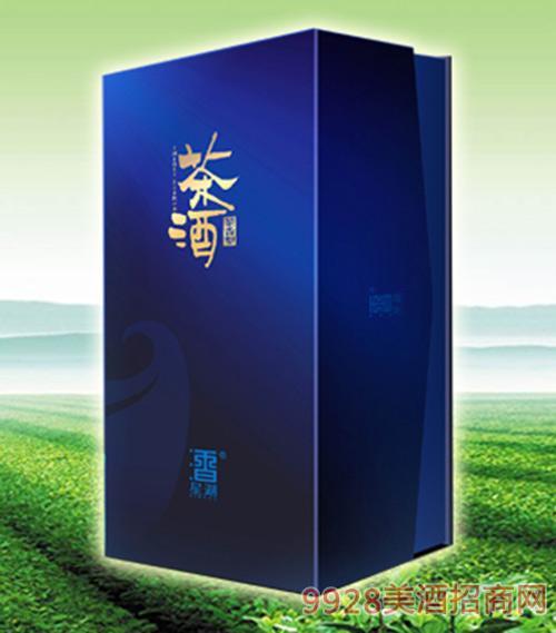星湖茶酒茶香型蓝色礼盒