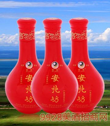 安兆坊青稞酒半斤红光瓶250ml