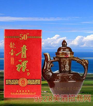 安兆坊龙壶青稞酒50°
