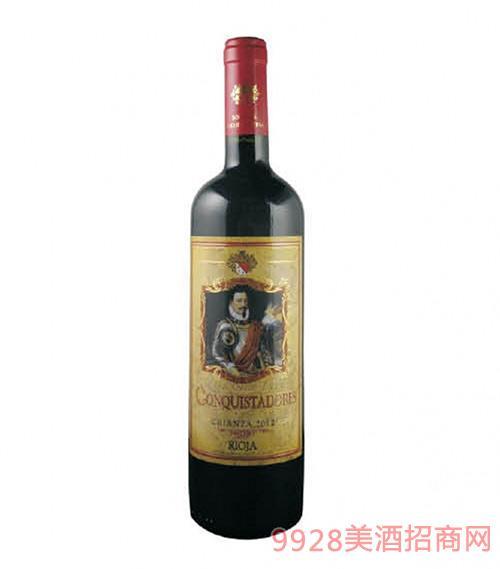 西班牙征服者陈酿干红葡萄酒15度750ml