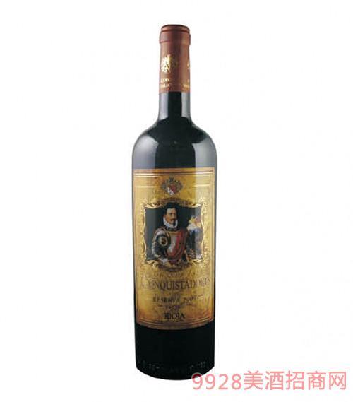 西班牙征服者珍酿干红葡萄酒14度750ml