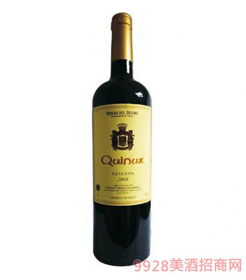 西班牙金尼斯精选干红葡萄酒2008
