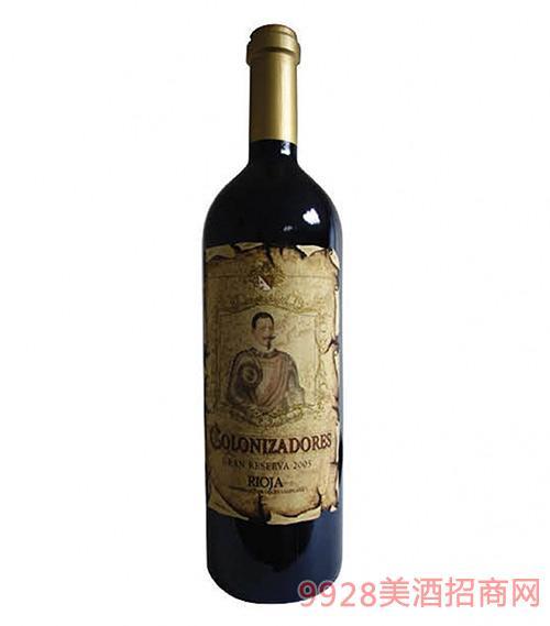 西班牙征服者特别珍藏干红葡萄酒14.5度750ml