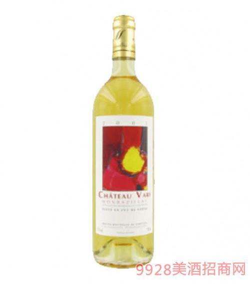 法国华瑞庄园贵腐甜白葡萄酒