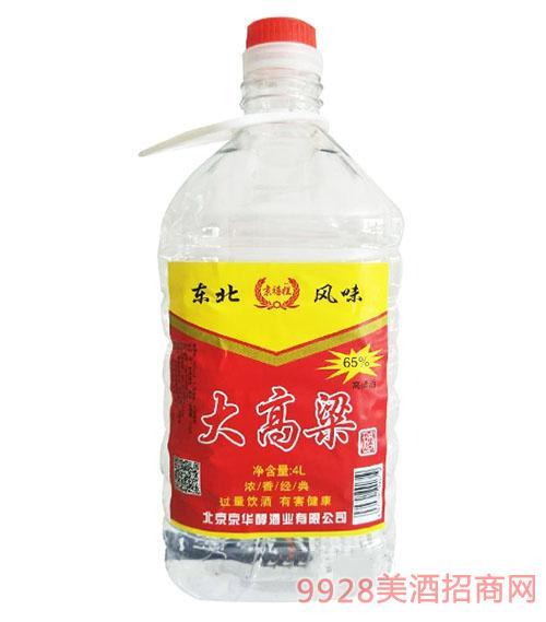 京禧拦大高粱酒65°4L