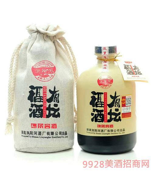 瀏陽河綿柔窖酒有壇福酒