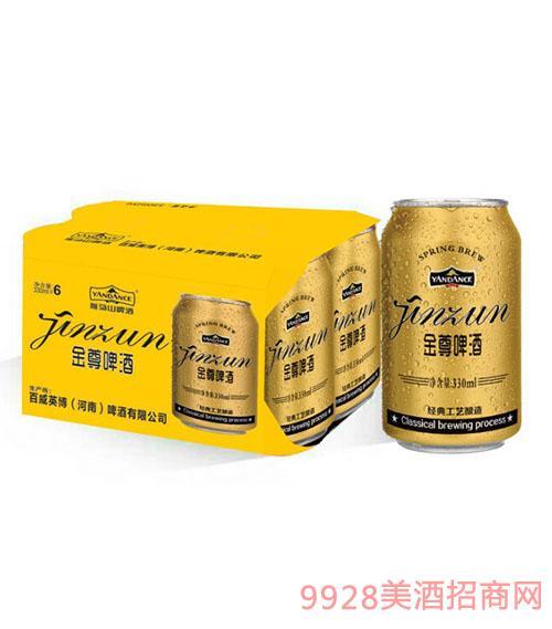 百威英博金尊啤酒330mlx6