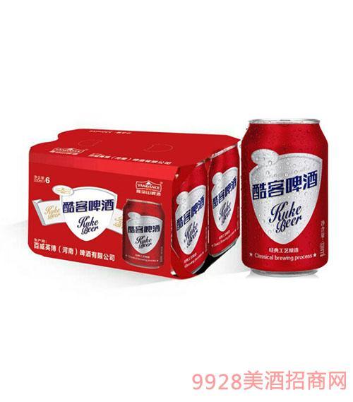 百威英博酷客啤酒330mlx6