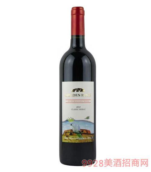 澳伦斯庄园黄金石经典设拉子干红葡萄酒14度750ml