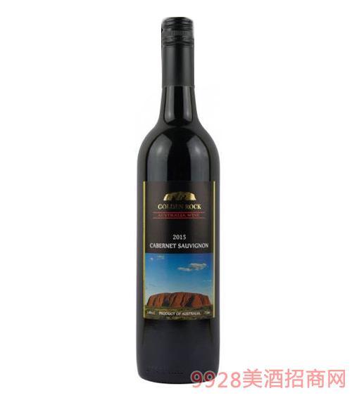 澳伦斯庄园黄金石黑牌赤霞珠干红葡萄酒14度750ml