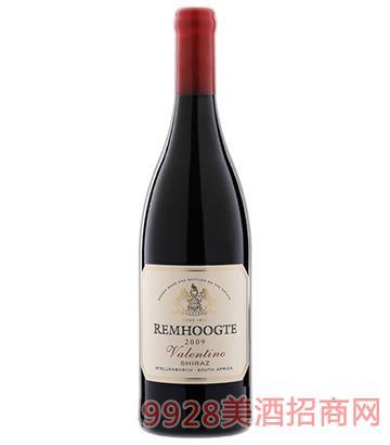 2009斑马庄园华伦天努西拉干红葡萄酒