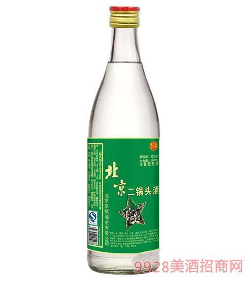 牛洱泉北京二锅头酒42°500ml