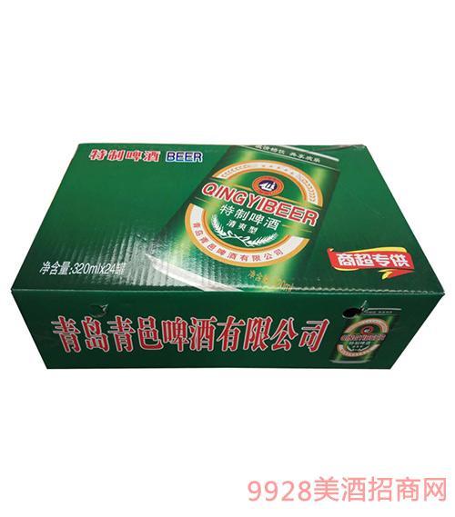 特制清爽型啤酒320ml×24罐