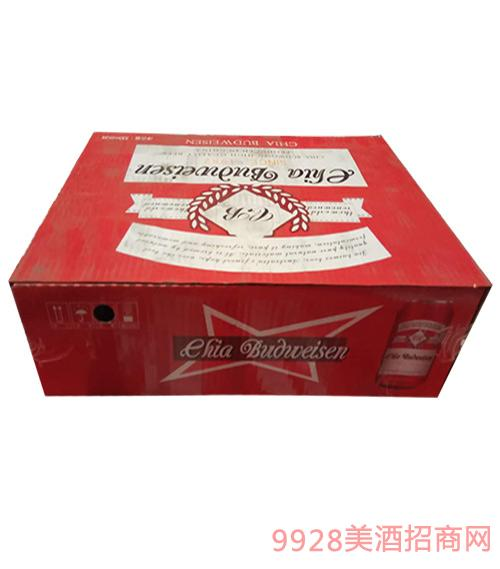 嘉百威啤酒紅罐330ml×24罐