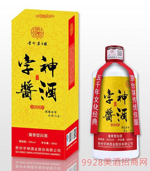 字神酱酒窖藏53度500ml