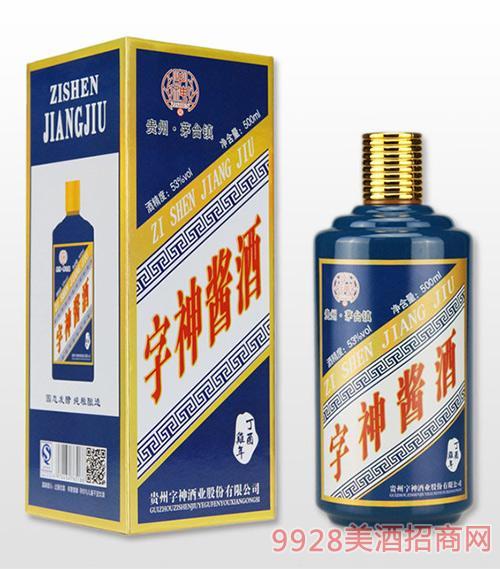字神酱酒鸡年生肖酒53度500ml