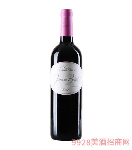 法国情迷波尔多乔安娜贝克堡葡萄酒