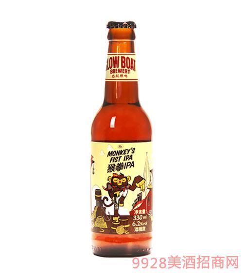 猴拳印度淡色艾尔啤酒