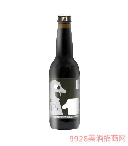 比利时米凯乐咖啡黑啤酒
