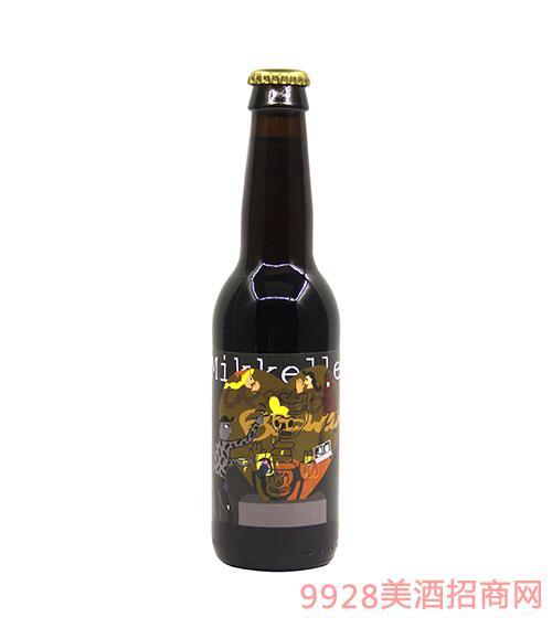 比利时米凯乐蜜语棕色艾尔啤酒