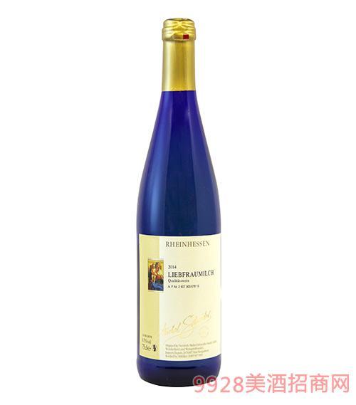 德国米歇尔施耐德圣母之乳半甜白葡萄酒