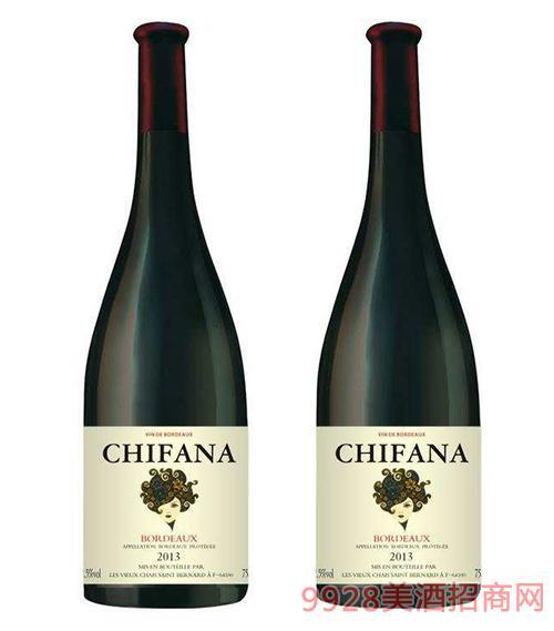 法���凡拉干�t葡萄酒2013-750ml