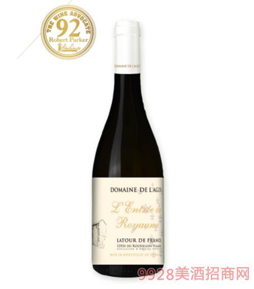 雄鹰酒庄皇 家之门干红葡萄酒