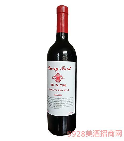 澳洲奔富贵 族干红葡萄酒12度750ml