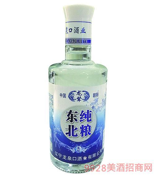 东纯北粮酒·蓝醇光瓶