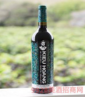 黄凯绿标纳帕谷赤霞珠红葡萄酒2011