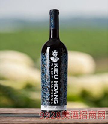 黄凯蓝标加州赤霞珠红葡萄酒2011