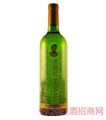 黄凯纳帕谷长相思白葡萄酒2012火热招商中