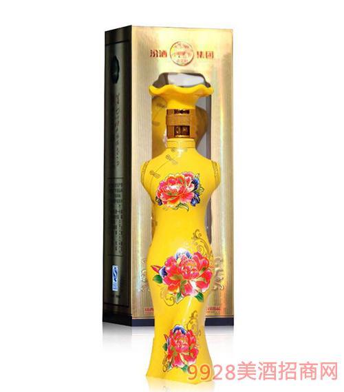 国花瓷酒·黄