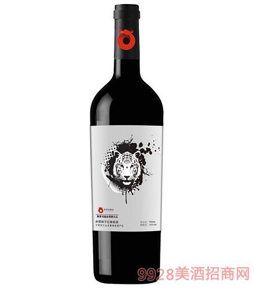 聚景母基金赤霞珠干红葡萄酒14度750ml