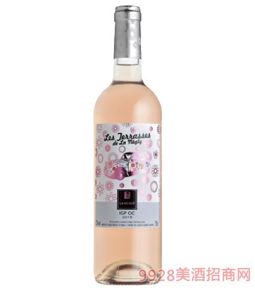 法国德拉塞斯桃红葡萄酒